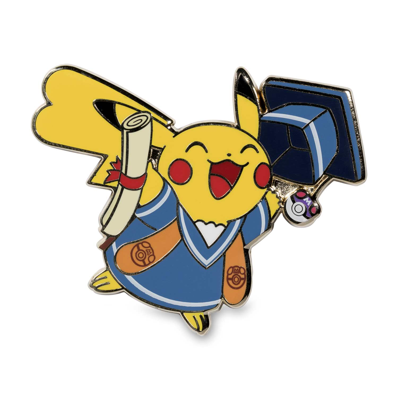 Pok mon pins pack. Pikachu clipart graduation