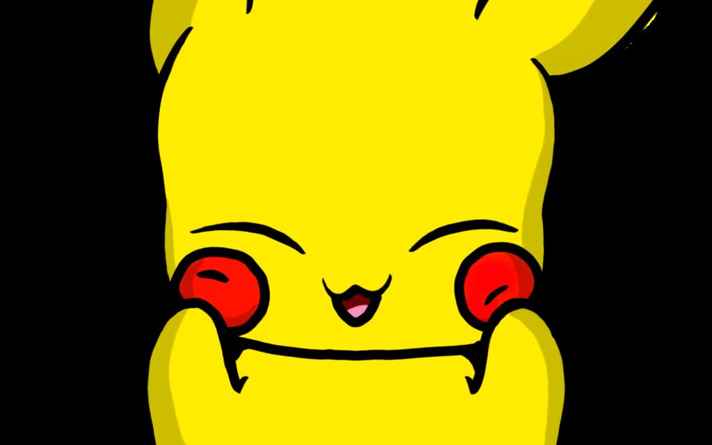 Pikachu clipart happy. Pikachuuuu by derpy dunsparce