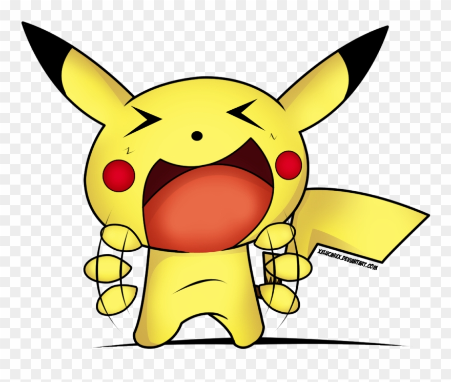 Funny faces png download. Pikachu clipart happy