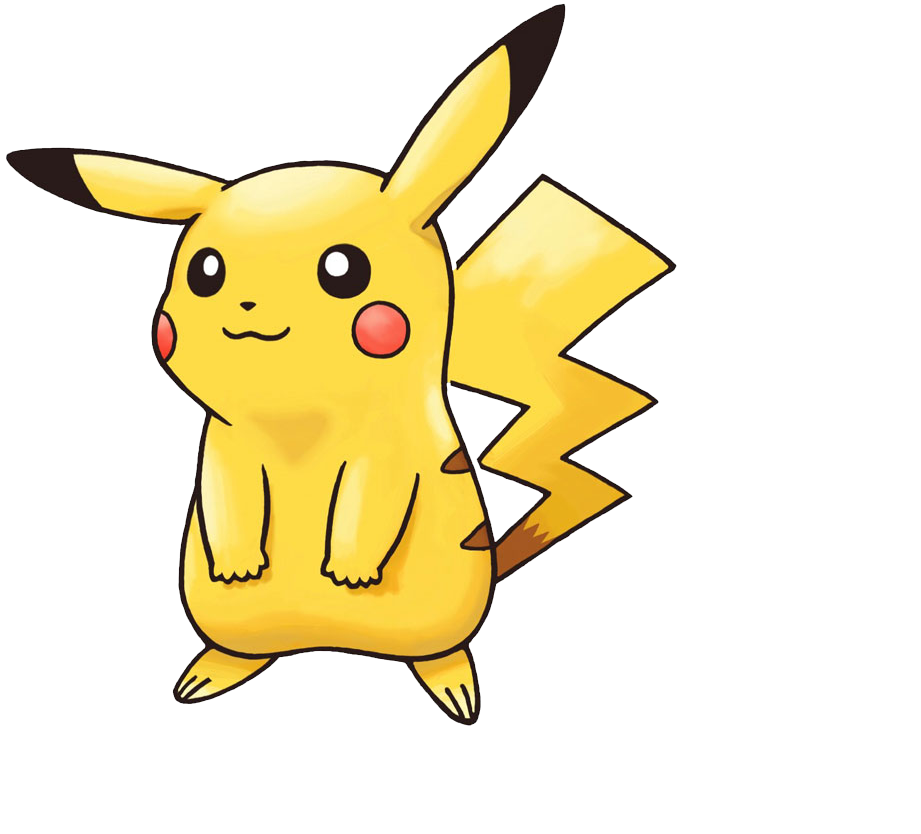 Screenshots images and pictures. Pikachu clipart happy