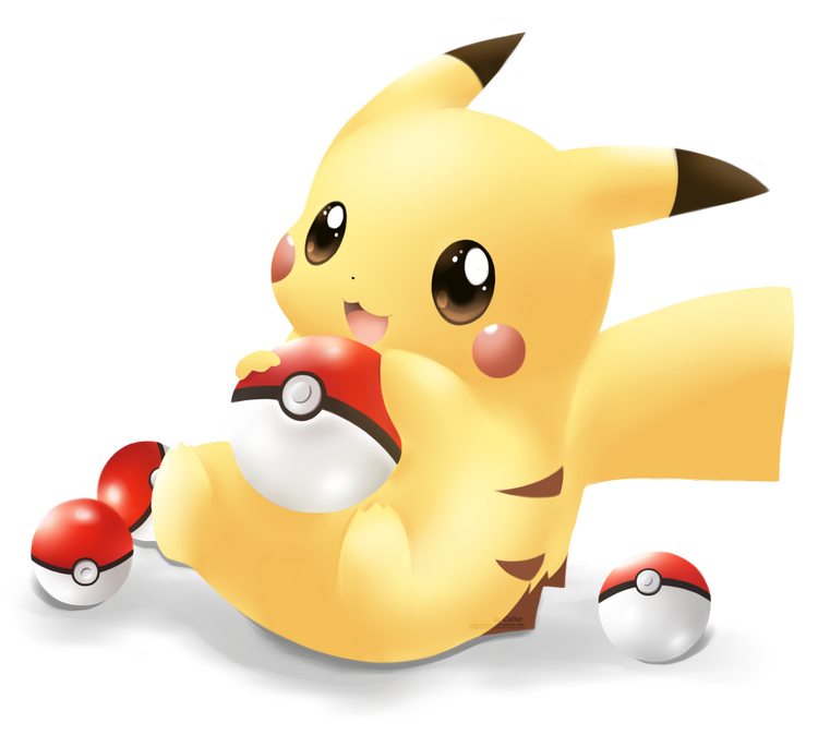 images about trending. Pikachu clipart heart