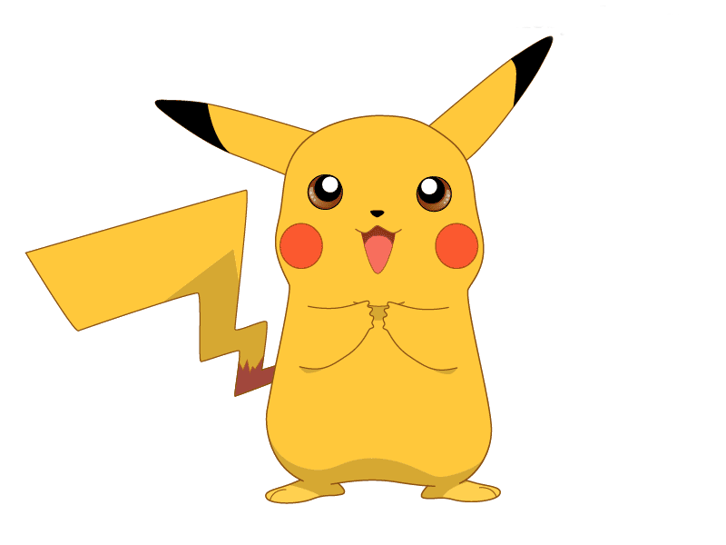 Pikachu clipart heart. With a drawing digitalspace