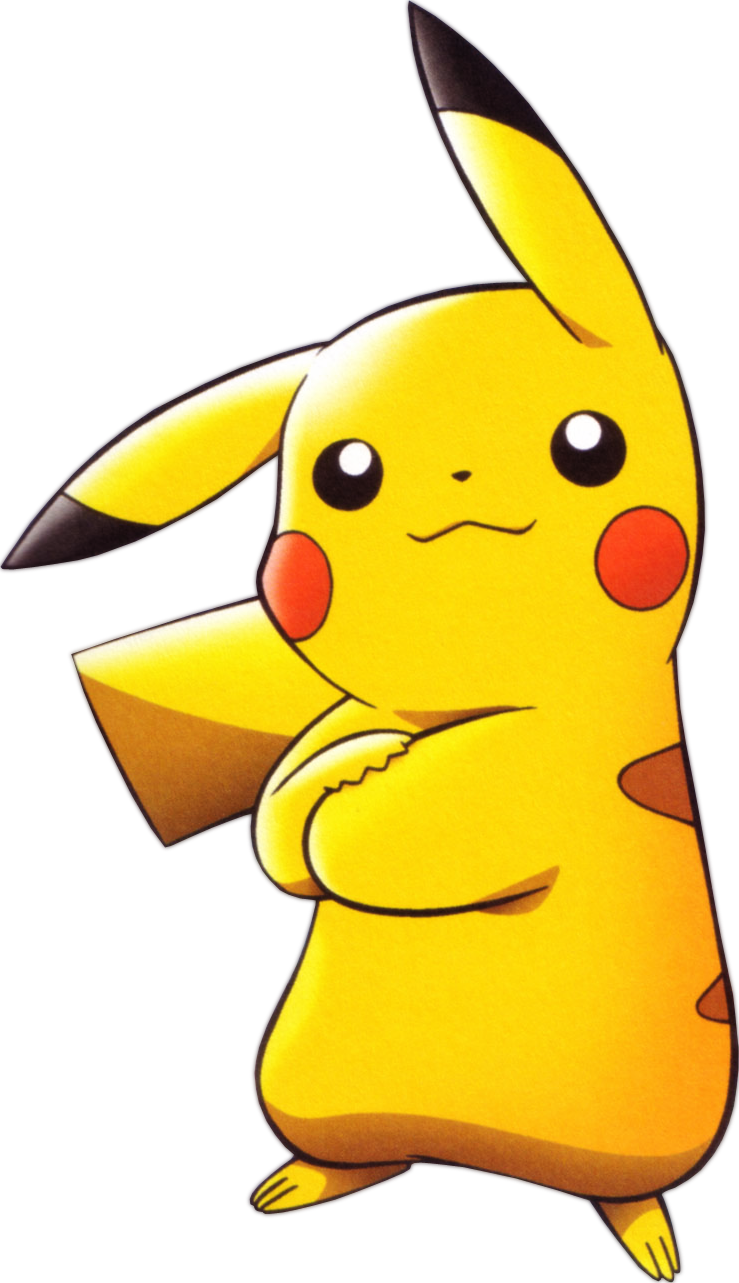 Pikachu clipart lightning. One minute melee fanon