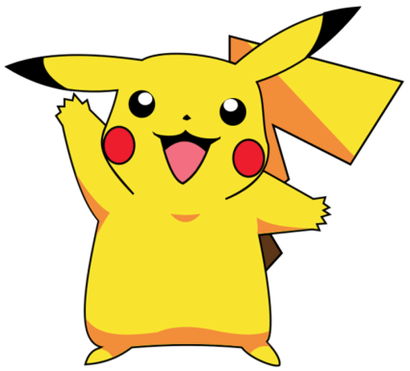 Pokemon clipart scrapbook.  collection of outline