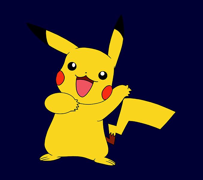 Pikachu clipart pdf, Pikachu pdf Transparent FREE for ...