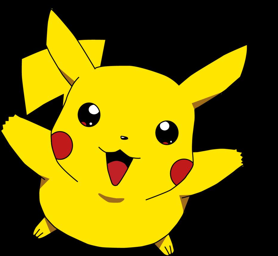 Pikachu clipart pdf. Pokemon hd ai cs