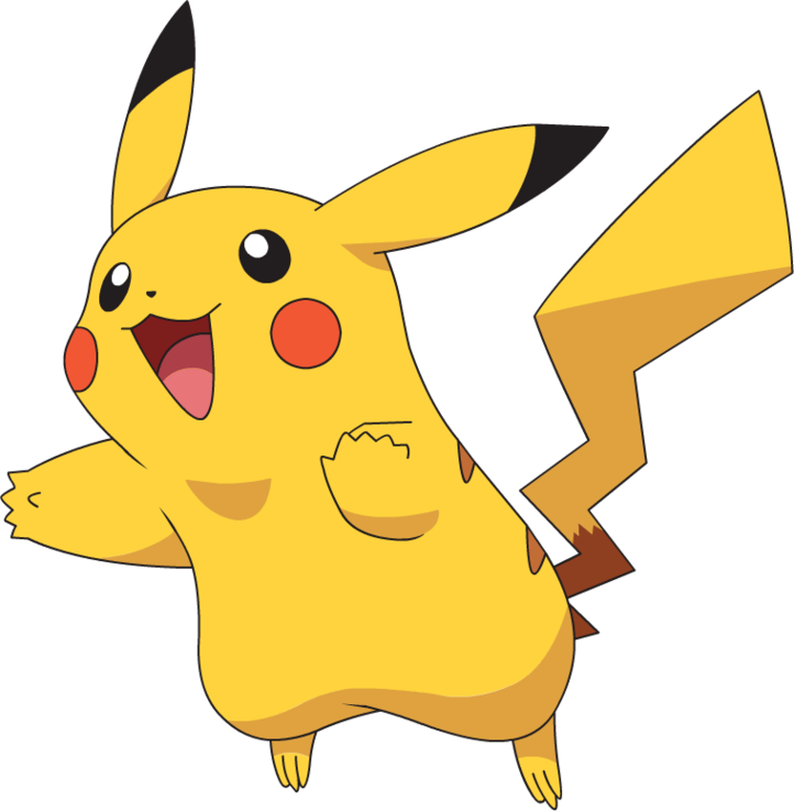 collection of pikachu. Pokemon clipart easy