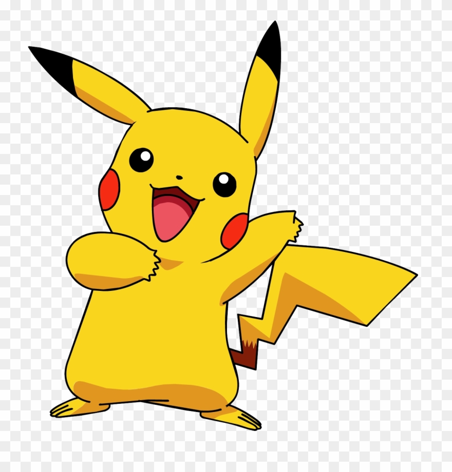 No background awesome graphic. Pokemon clipart version