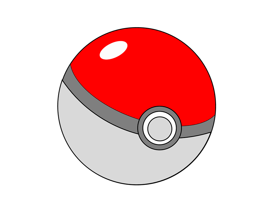 Pokemon ball png images. Pokeball clipart open