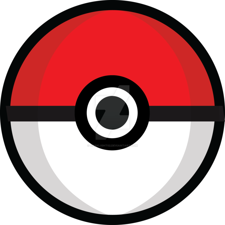 By darklight on deviantart. Pokeball clipart ball pokemon