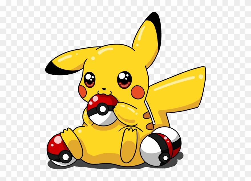 Pokeball clipart pikachu. Drawn cute pokemon