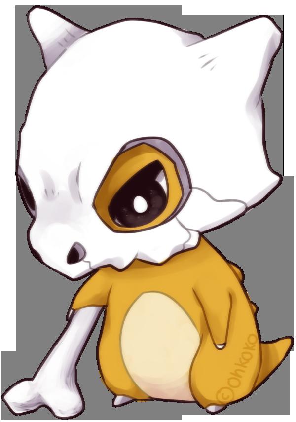 Pikachu clipart pokeball tattoo. Cubone by ohkoko on