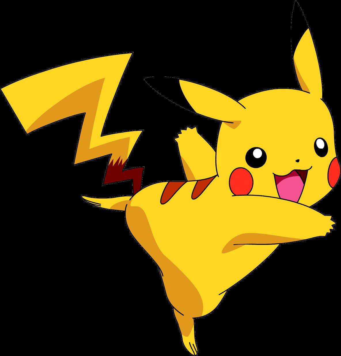 Pokemon png image . Anime clipart pikachu