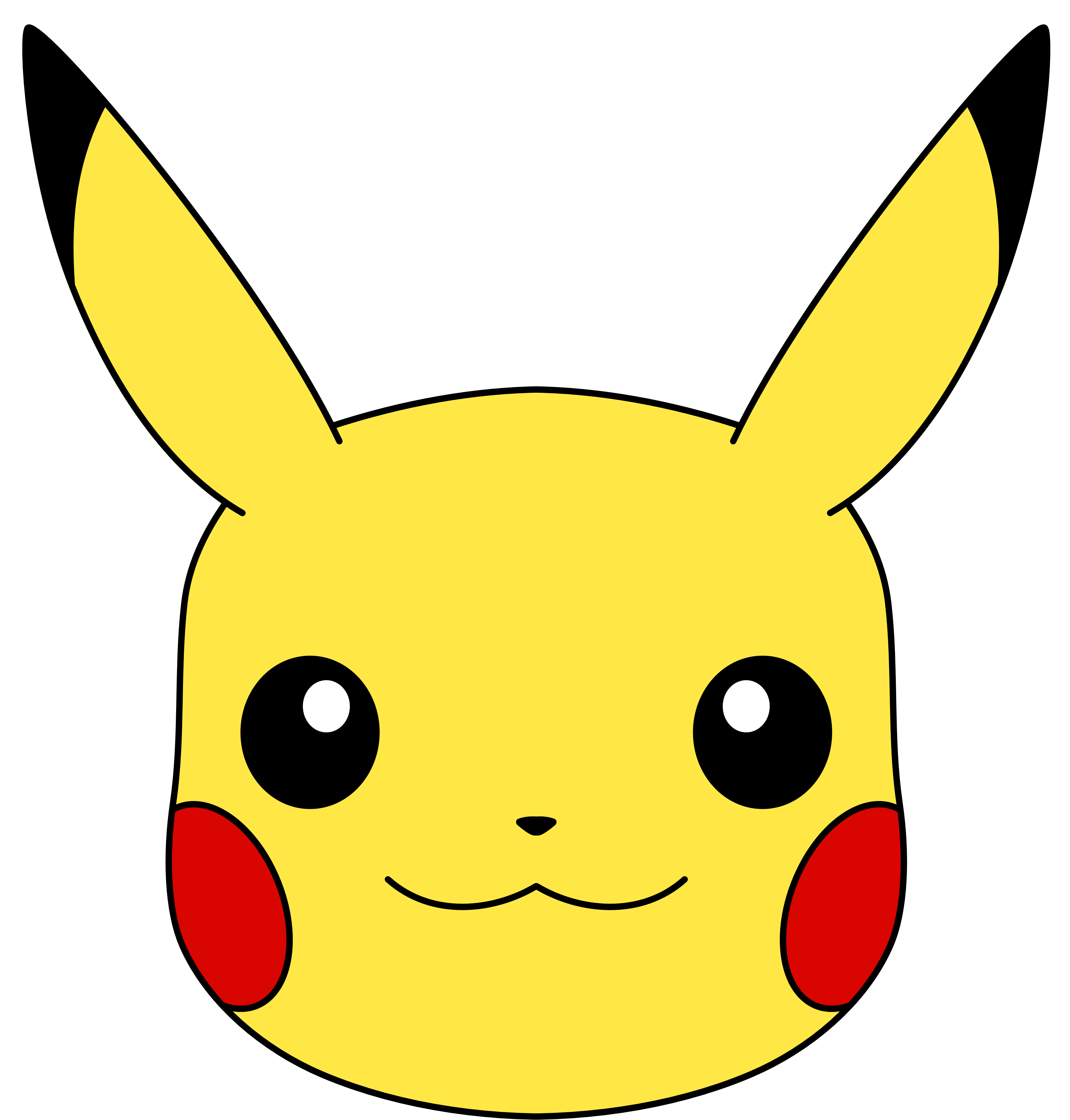 Pikachu clipart printable. To free images