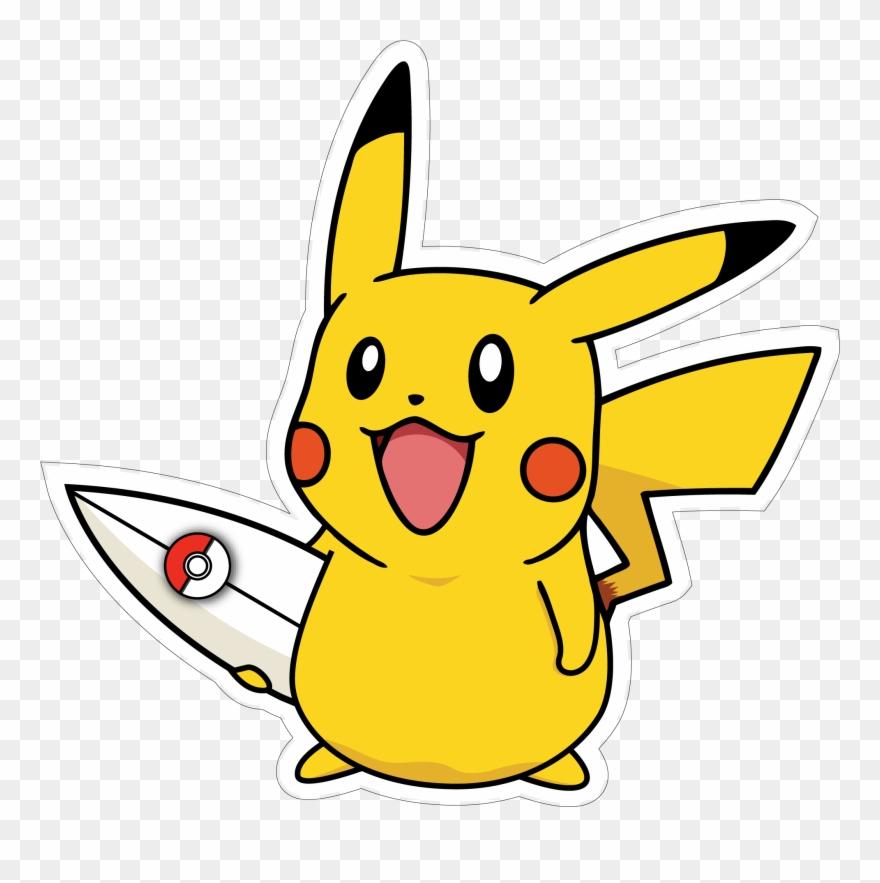 Pikachu clipart printable, Pikachu printable Transparent ...