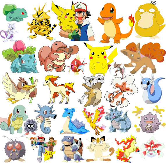 pokemon go stickers. Pikachu clipart printable