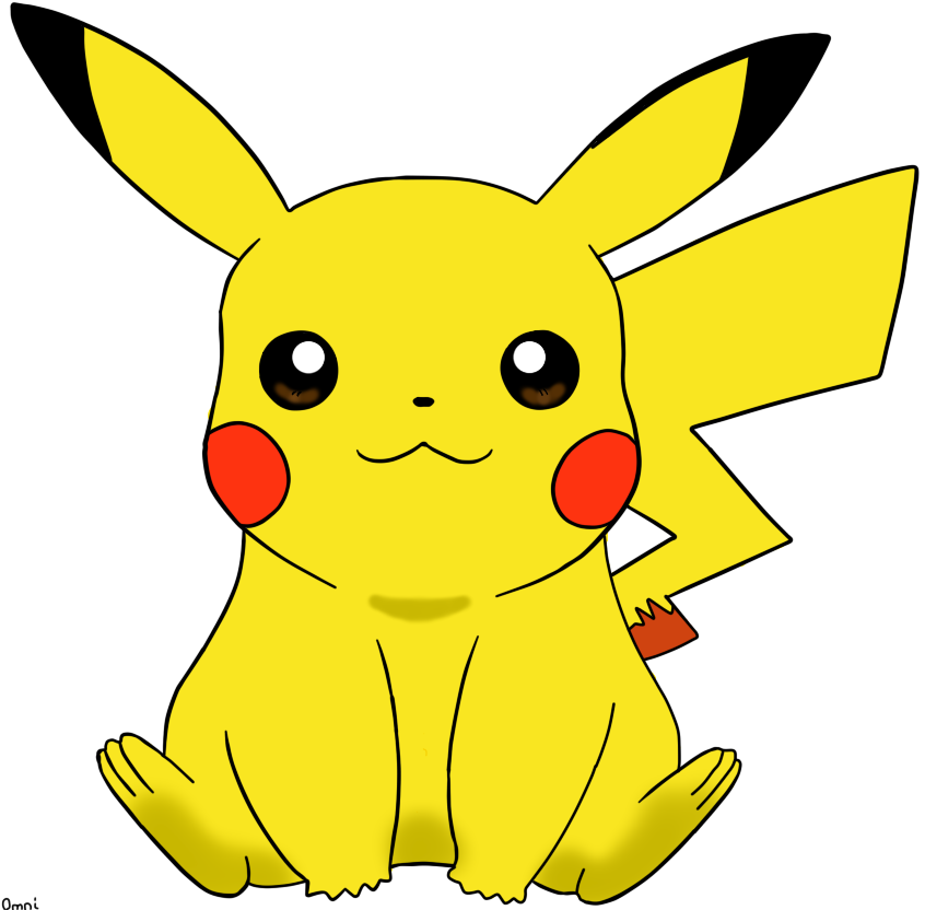 Pikachu digital art by. Pokemon clipart valentine