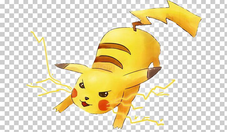 Pikachu clipart thunderbolt. Pok mon yellow ash