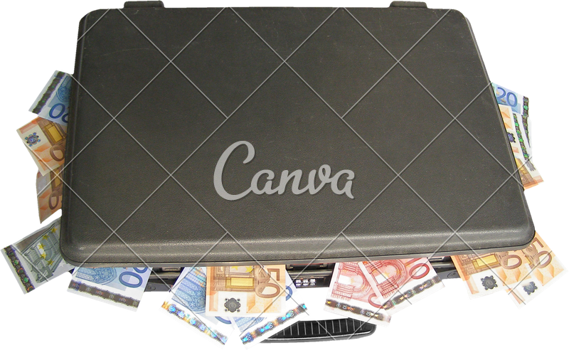 Pile of money png. Suitcase transparent photos by