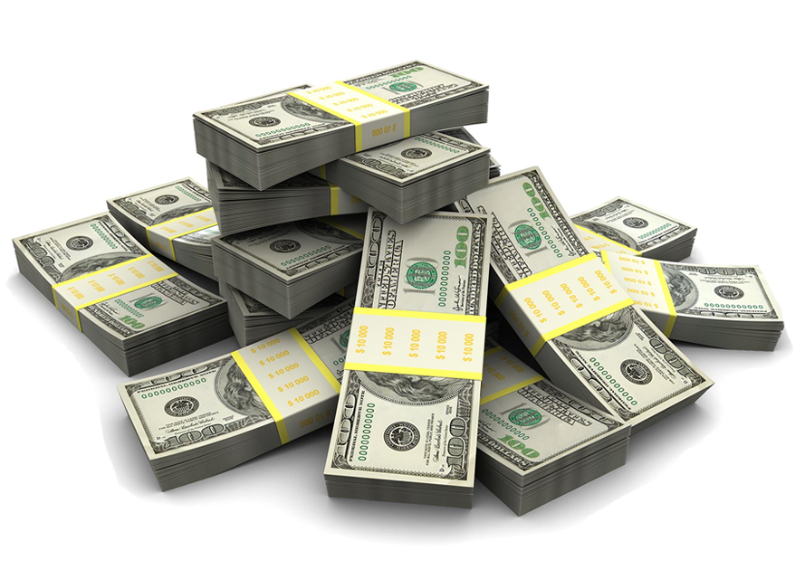 pile of money png