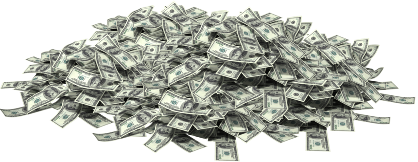 V video games thread. Pile of money png