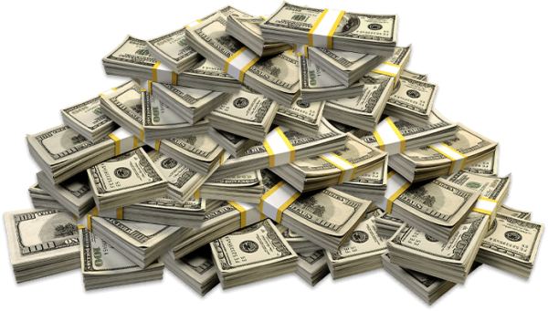 Play online casino games. Pile of money png