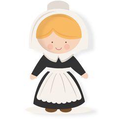 Pilgrims clipart female pilgrim. Free girl cliparts download