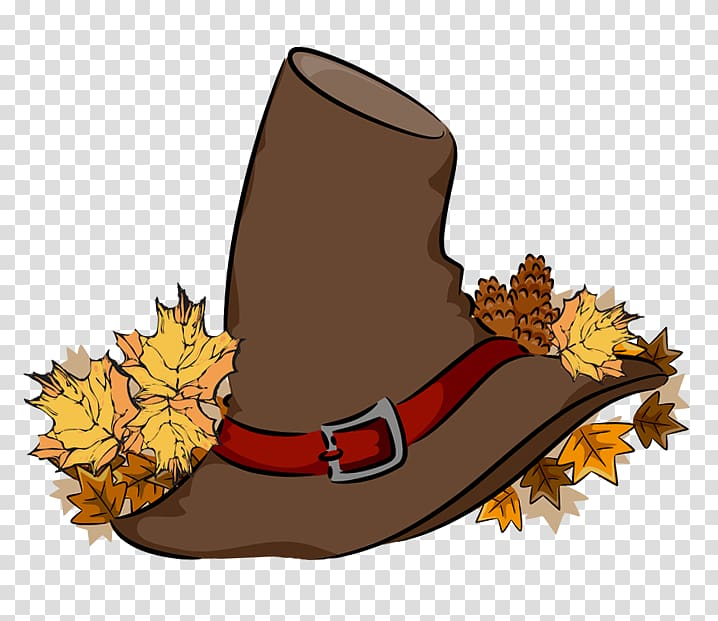 Pilgrim clipart boot. Brown hat with red
