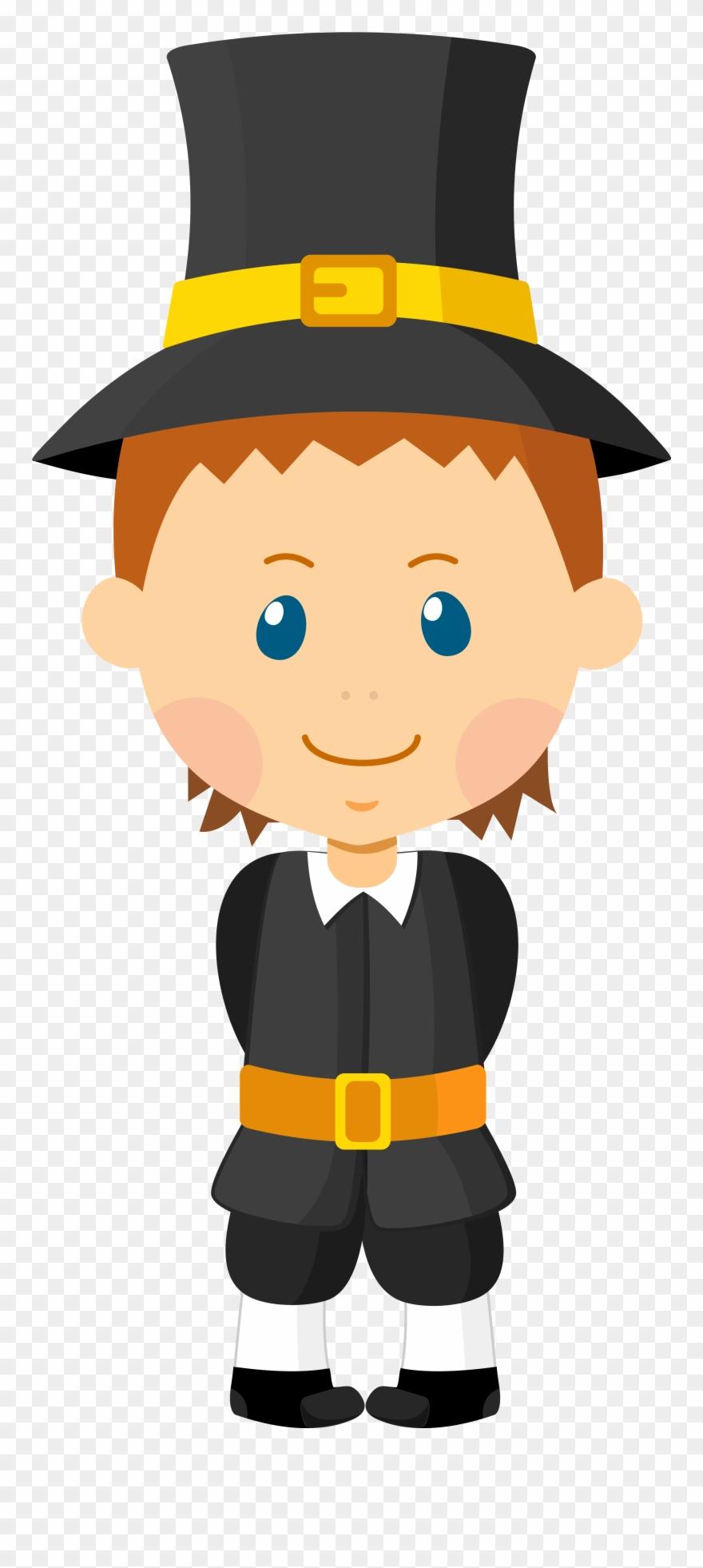 Pilgrims male pinclipart . Pilgrim clipart cartoon