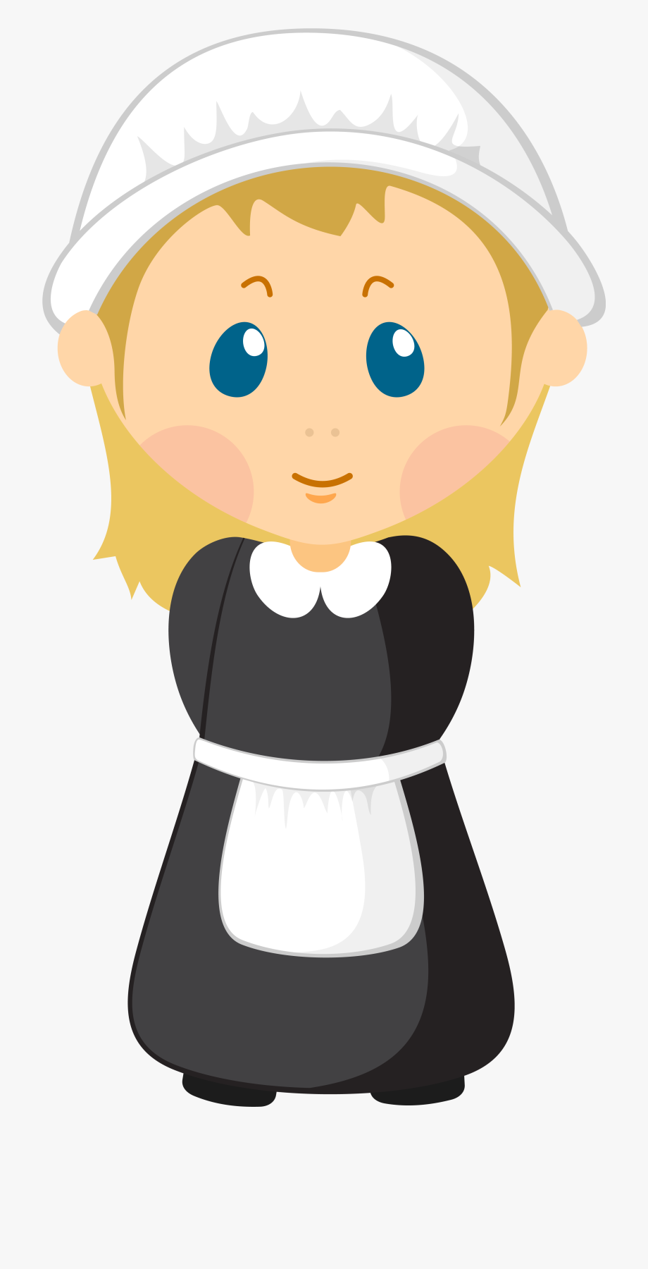 Girl png imageu b. Pilgrim clipart colonist