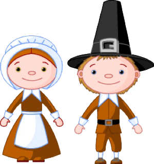 Clothes cliparts zone . Pilgrims clipart animated