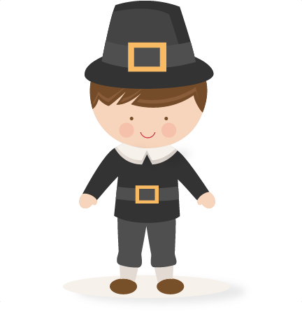 Pilgrim clipart kid. Free boy cliparts download