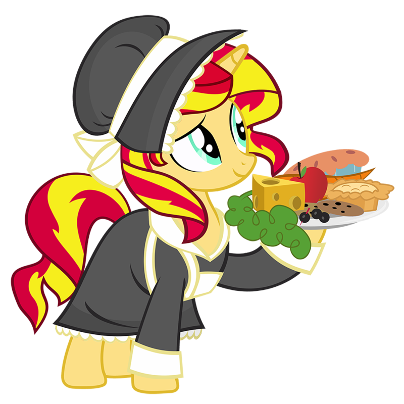 Pilgrim sunset shimmer by. Pilgrims clipart outfit