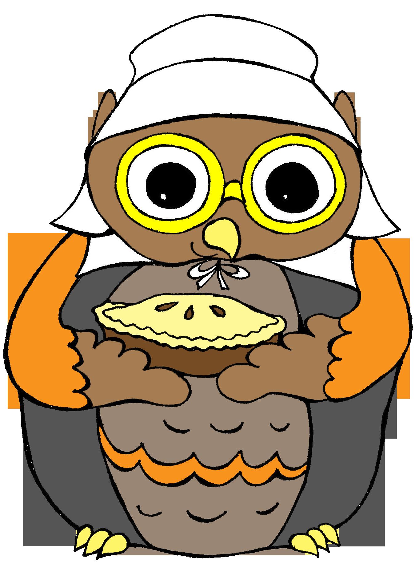 Clip art for teachers. Pilgrim clipart owl