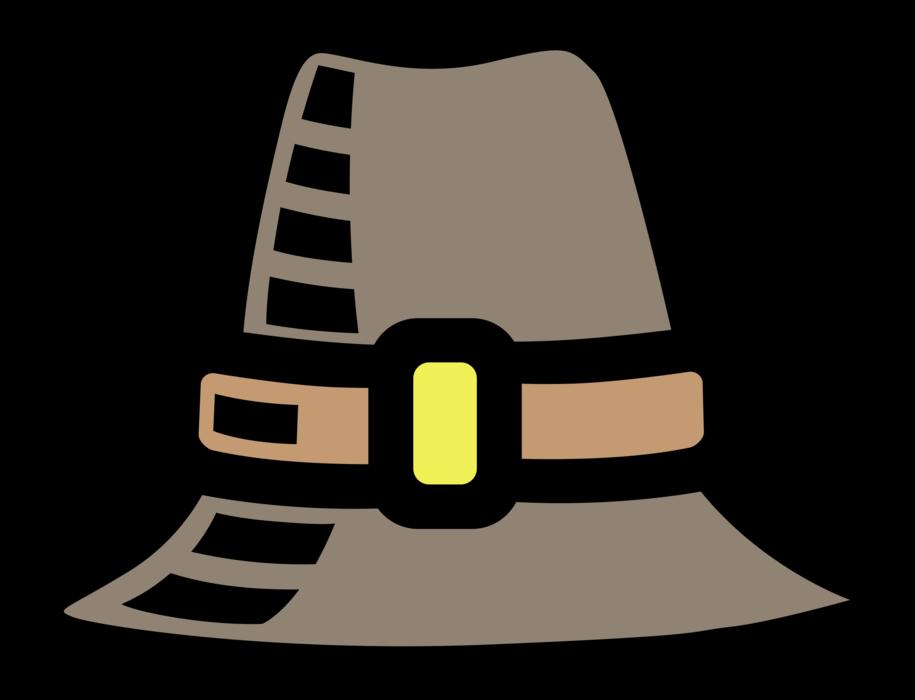 Mayflower pilgrim hat vector. Pilgrims clipart pioneer