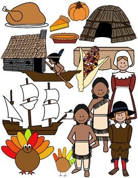 Worksheets teaching resources tpt. Pilgrims clipart wampanoag