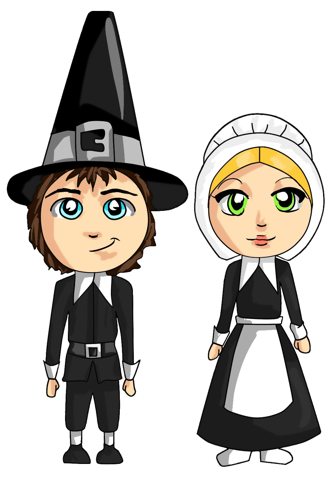 Transparent png gallery yopriceville. Pilgrims clipart