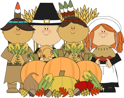 Pilgrims clipart. Thanksgiving pilgrim indian
