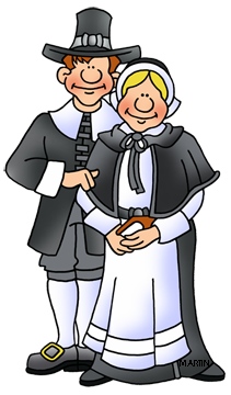Pilgrims clipart. Free thanksgiving clip art