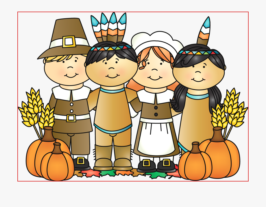 Pin america pilgrims and. Clipart thanksgiving indians