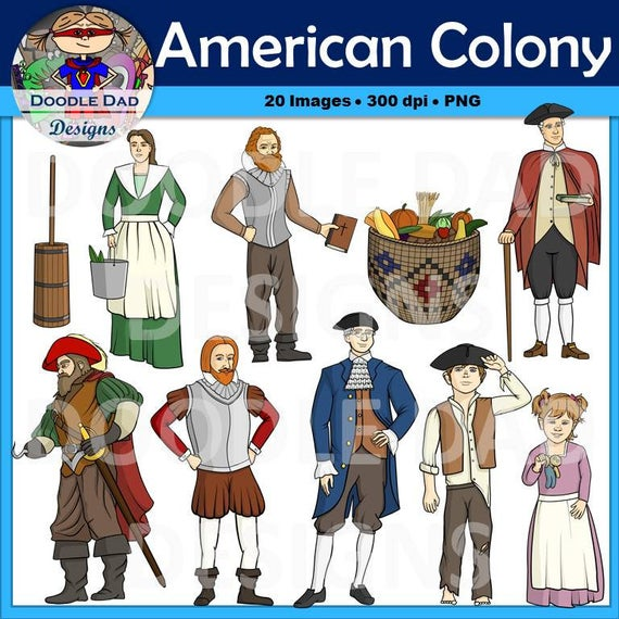 Colonial Clipart Worksheets & Teaching Resources   TpT