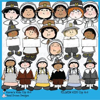 Pilgrims clipart school. Clip art pilgrim kids
