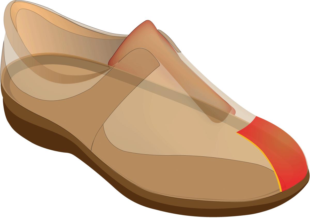 Pilgrims clipart shoe. Ultimate comfort in therapeutic
