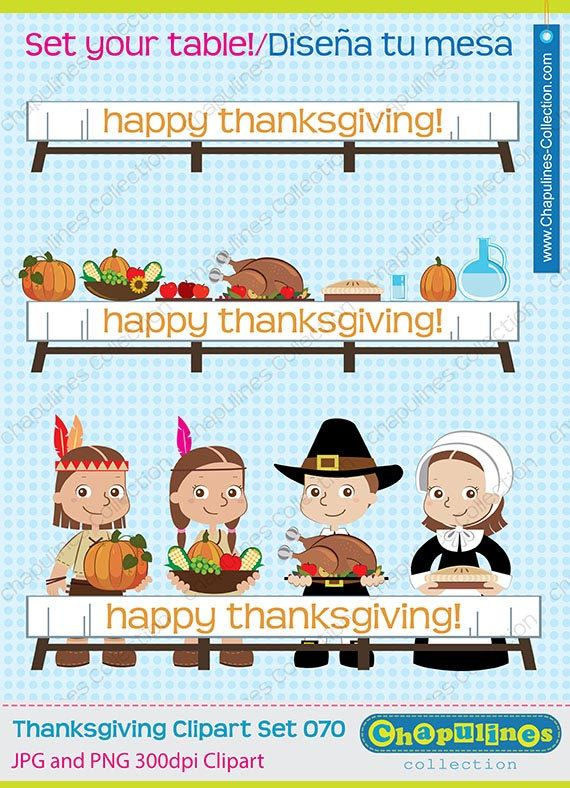 off thanksgiving native. Pilgrims clipart table