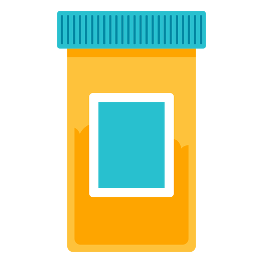 Medical icon transparent svg. Pill bottle png