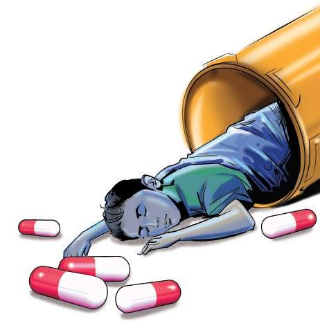 Visual media helps excise. Pills clipart drug misuse
