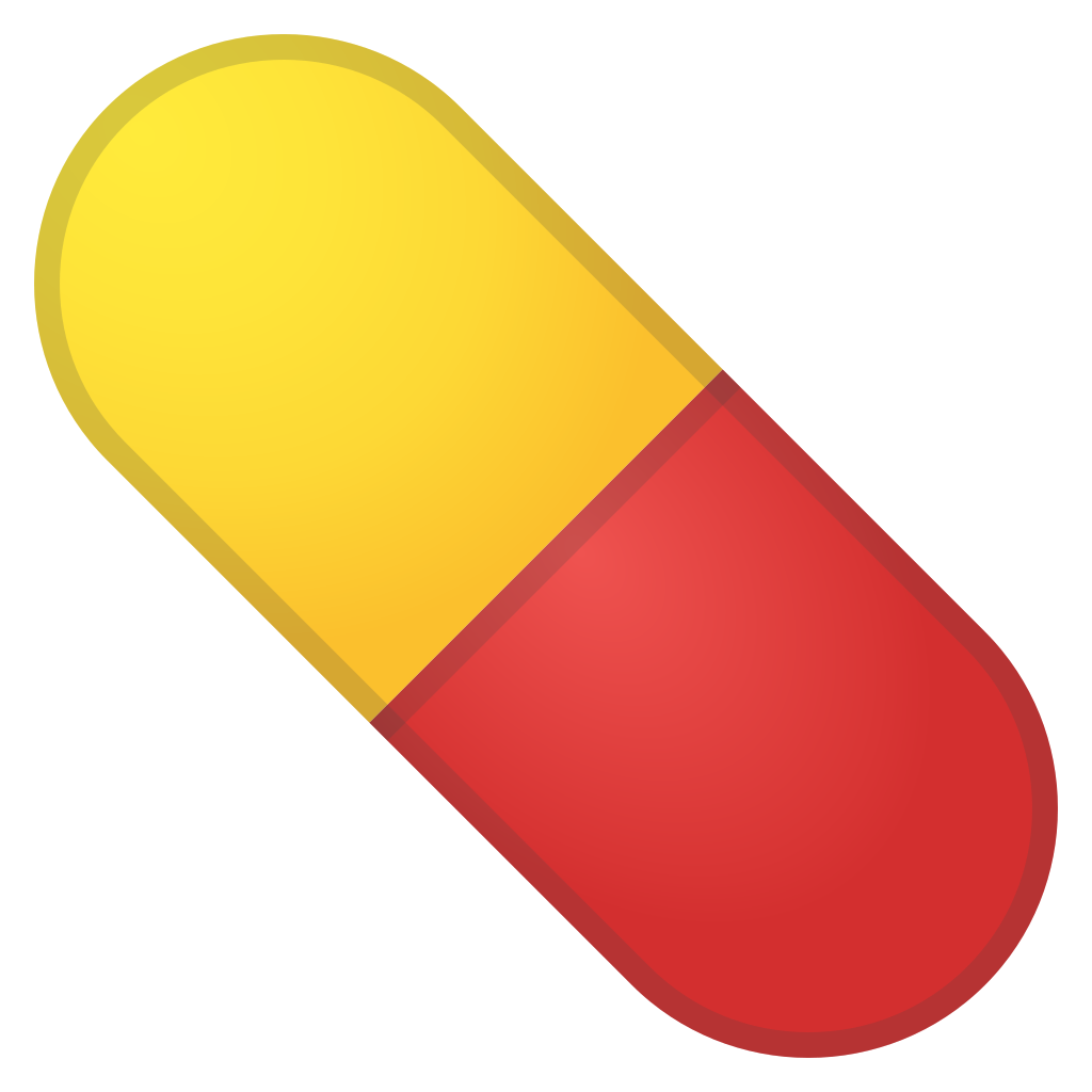 Pill clipart emoji. Icon noto objects iconset