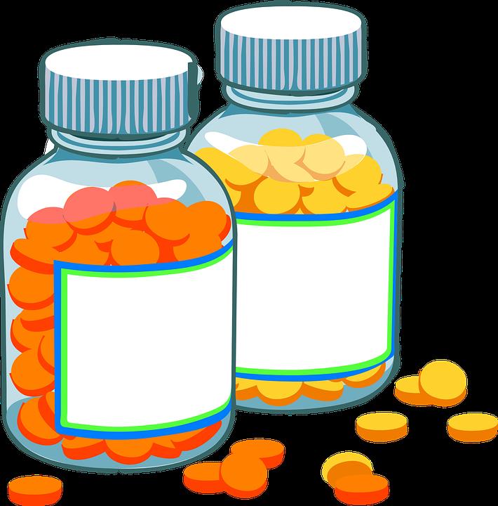 Pill clipart over counter drug. Tablet medication frames illustrations