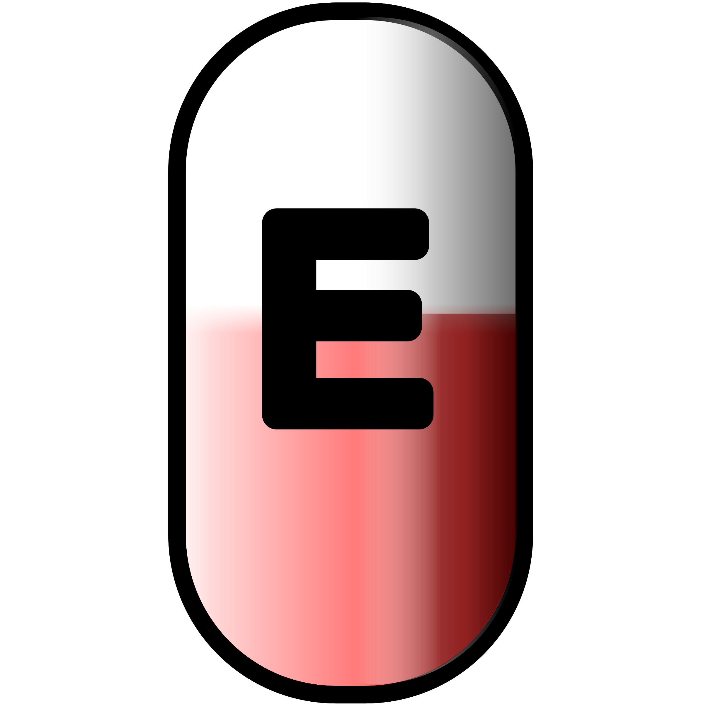 pill clipart red pill