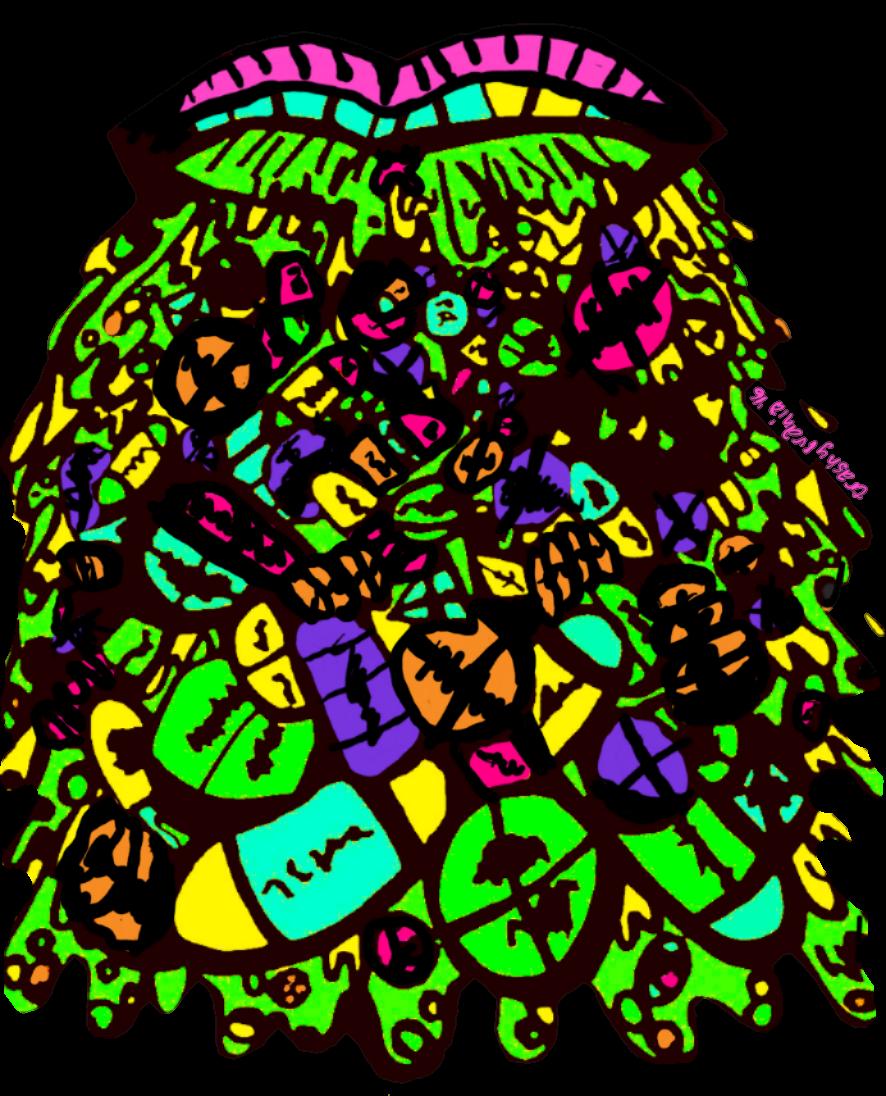 Pill clipart transparent tumblr. Technicolor difficulties puke new